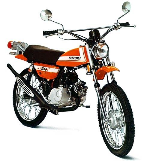 1971 TS50 Suzuki Goucho