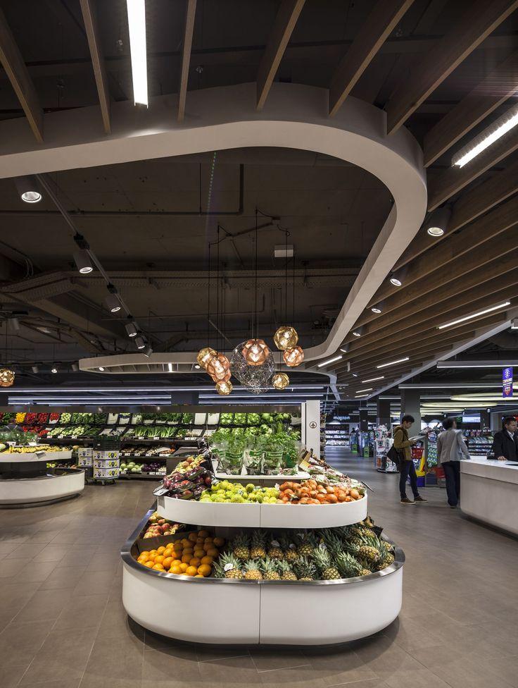 Spar flagshipstore supermarktdesign ladenbau supermarkt