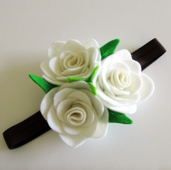 how to put together a fabric flower bouquet