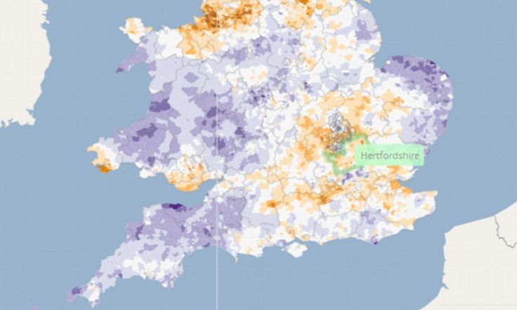 How healthy is your postcode? Official website reveals the risks in YOUR area at the click of a mouse Online atlas maps the geographical pattern of various diseases Central London, north Norfolk and Brighton listed as healthiest areas Riskier places include the North West, parts of Yorkshire and South Wales