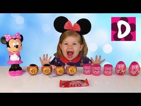 ✿ Mickey Mouse и Минни Маус НОГТИ Наклейки ФАШЕМС и ЯЙЦА Сюрприз Mickey Mouse unboxing surprise toys    {{AutoHashTags}}