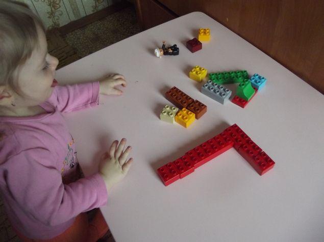 Лего - буквы . - Поделки с детьми | Деткиподелки