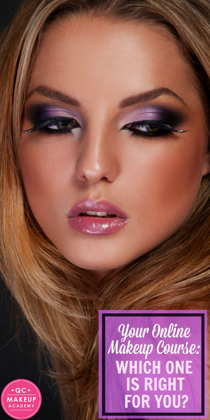 How do you know which online makeup course is right for you? Read on to find out exactly what kind of courses you can expect to find at an online makeup school! #QCMakeupAcademy #makeup #makeupartist #makeupschool #learnmakeup