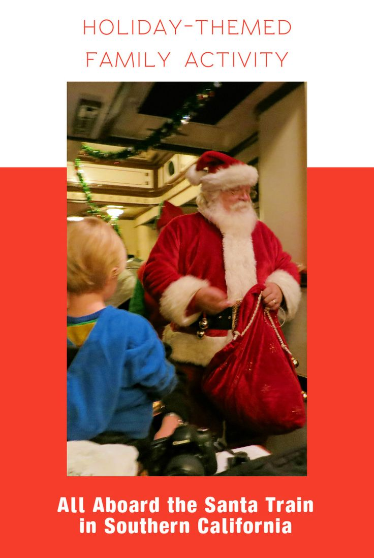 North Pole Express - holiday-themed family activity in Southern California