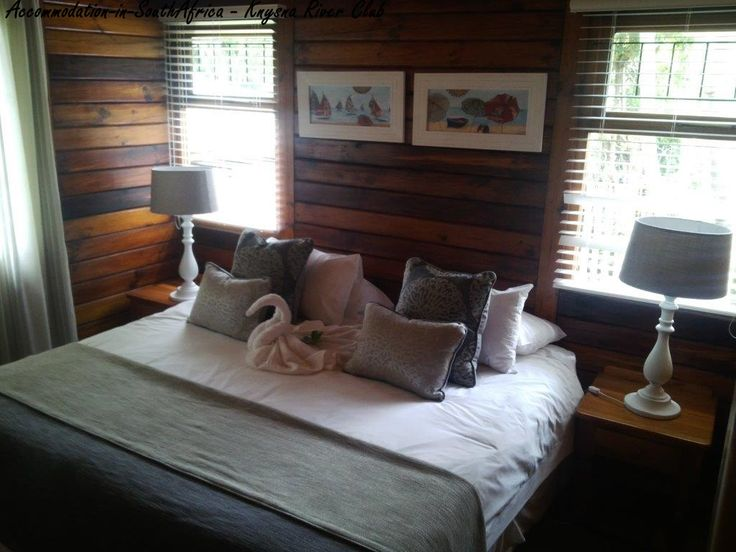 Comfortable rooms at the Knysna River Club. Knysna Accommodation. Accommodation in Knysna.