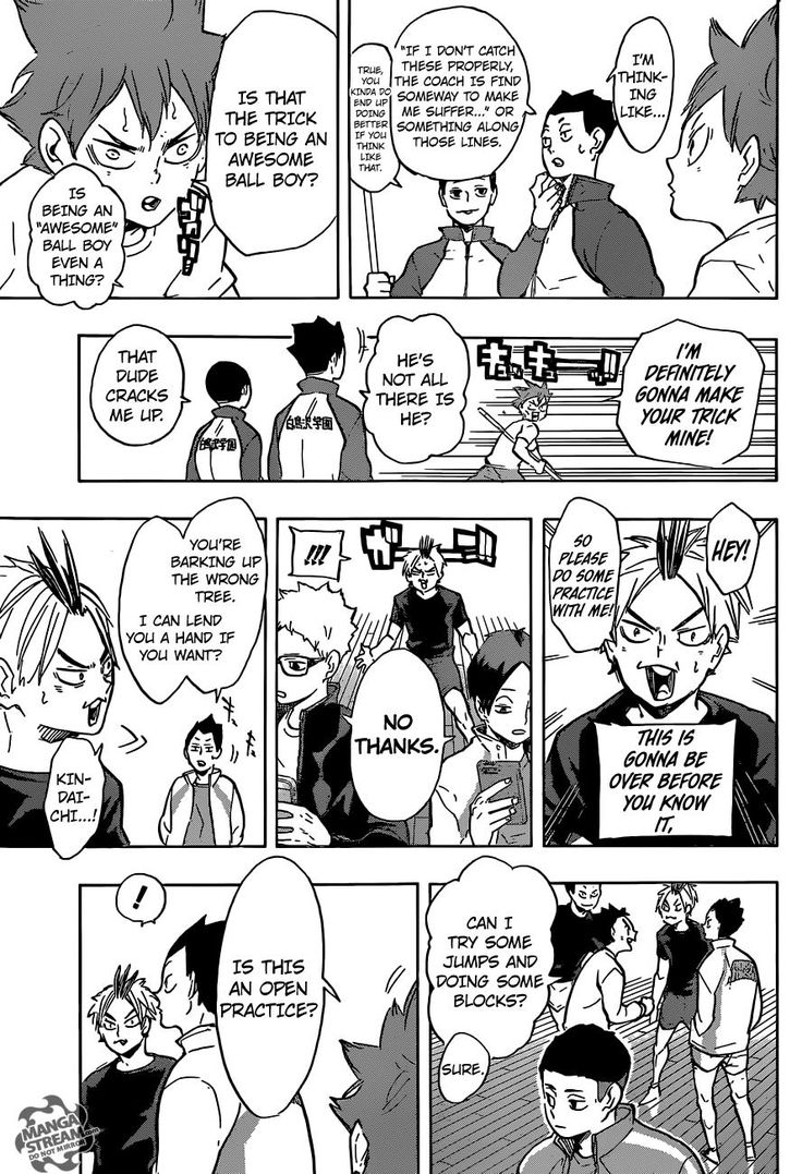 Read manga Haikyuu!! 213 online in high quality