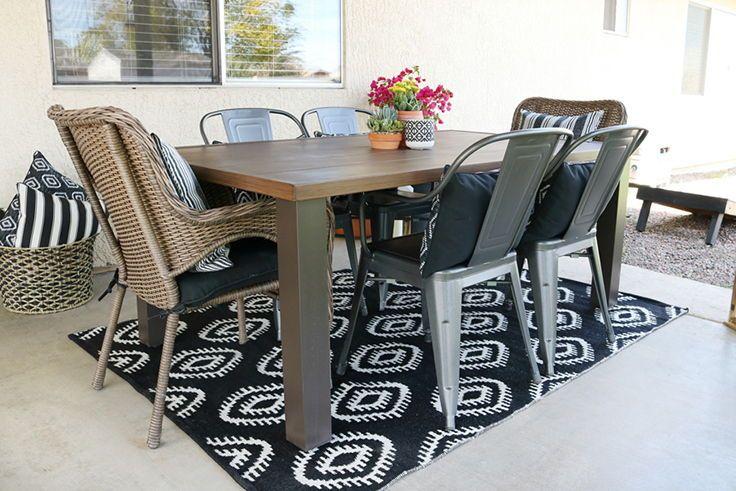 f70695e1afbff7c13fb05ca1eb99b540 - Better Homes & Gardens Camrose Farmhouse 6 Person Dining Table