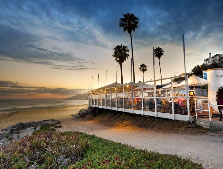 Gladstone's Malibu is one of LA's most iconic restaurants thanks to the fantastic views from its patio, and the delicious seafood for which it's known - the restaurant goes through an estimated 65,000 lobsters per year. | Glandstone's Malibu, LA