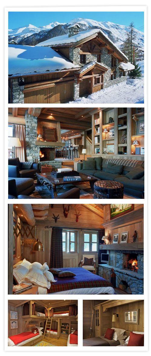 Más de 1000 ideas sobre casas de montaña en pinterest ...
