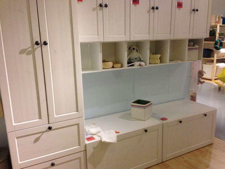 Ikea Stuva with Betsad doors and drawers. Matches the Ikea Sundvik range nicely.