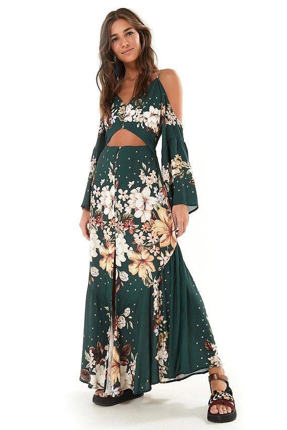 6e3d719938 vestido longo floral joy Tudo sobre e-farm GANHE  DESCONTO + FRETE GRATIS 🦋