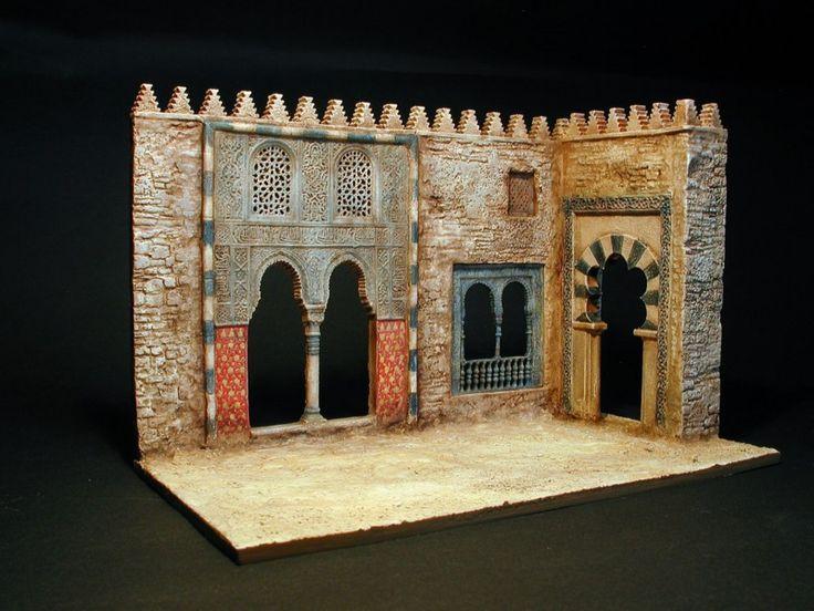 "MODELISMO Y MODELISTAS ""THE MASTERS"" II (ANEXO DIORAMA): ""Arabian nights"" Esc 1/72 by Erik Trauner"