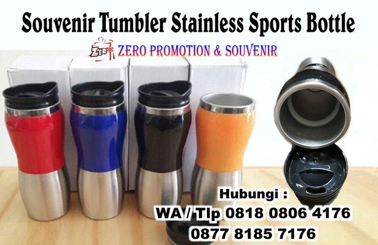 Jual Souvenir Tumbler Stainless Sports Bottle