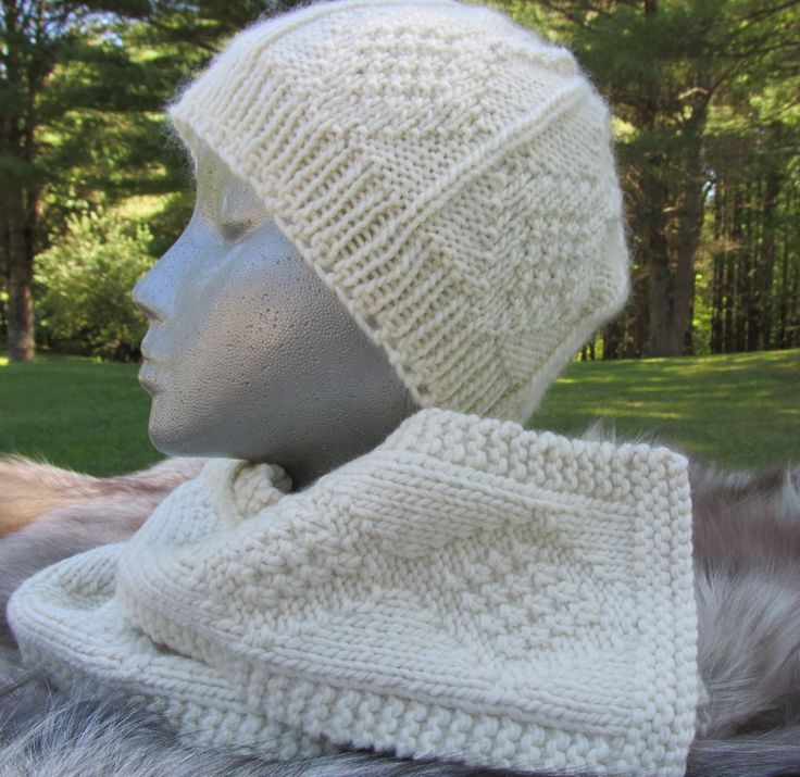 Hat and Scarf Set - pinned by pin4etsy.com