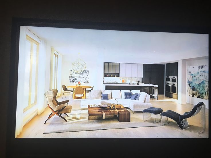 Pic of living room sample (from 11 Beach brochure