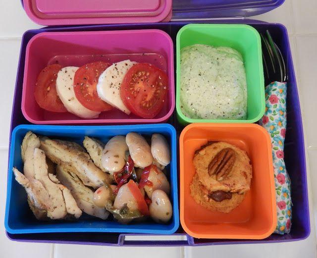 Bento Box Lunch - Italian Caprese #Bariatric #Meals #Recipes