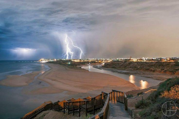 Onkaparinga River Mouth Port Noarlunga South South Australia