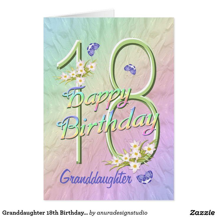 16 Best Granddaughter Birthday Cards Images On Pinterest