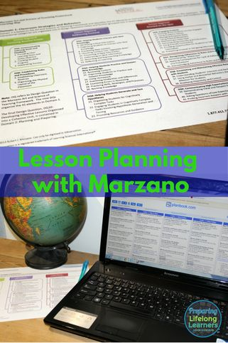 Marzano lesson planning. Using Marzano's Learning Map to create strategy based lesson plans.