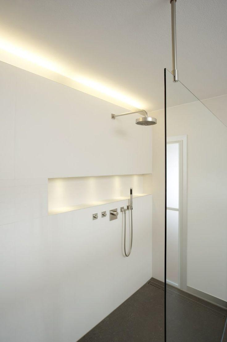Machen Sie Ihre Home Beam Und Glow Mit Integrierter Beleuchtung Architekt Beam Beleuchtung Glow Innenbeleuchtung Badezimmer Innenausstattung Badezimmer