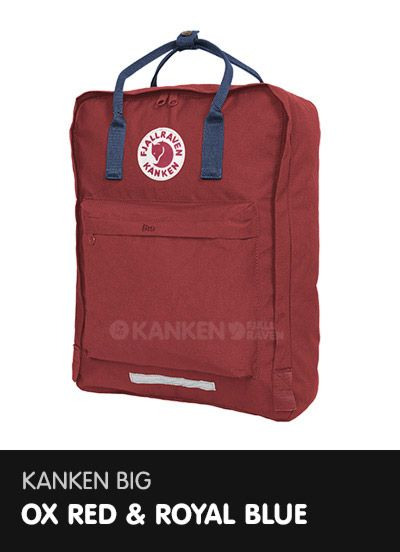 fjallraven kanken ox red white