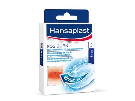 Hansaplast SOS Επιθέματα για Εγκαύματα - Δροσίζουν και προστατεύουν τα ελαφριά Εγκαύματα