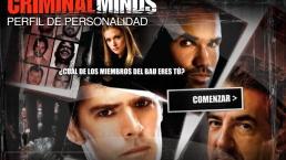 Teste de Personalidade Criminal Minds