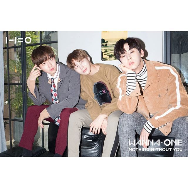 """""""You stole my heart, but i'll let you keep it"""" ♡WannaOne♡jaehwan sungwoon minhyun"""
