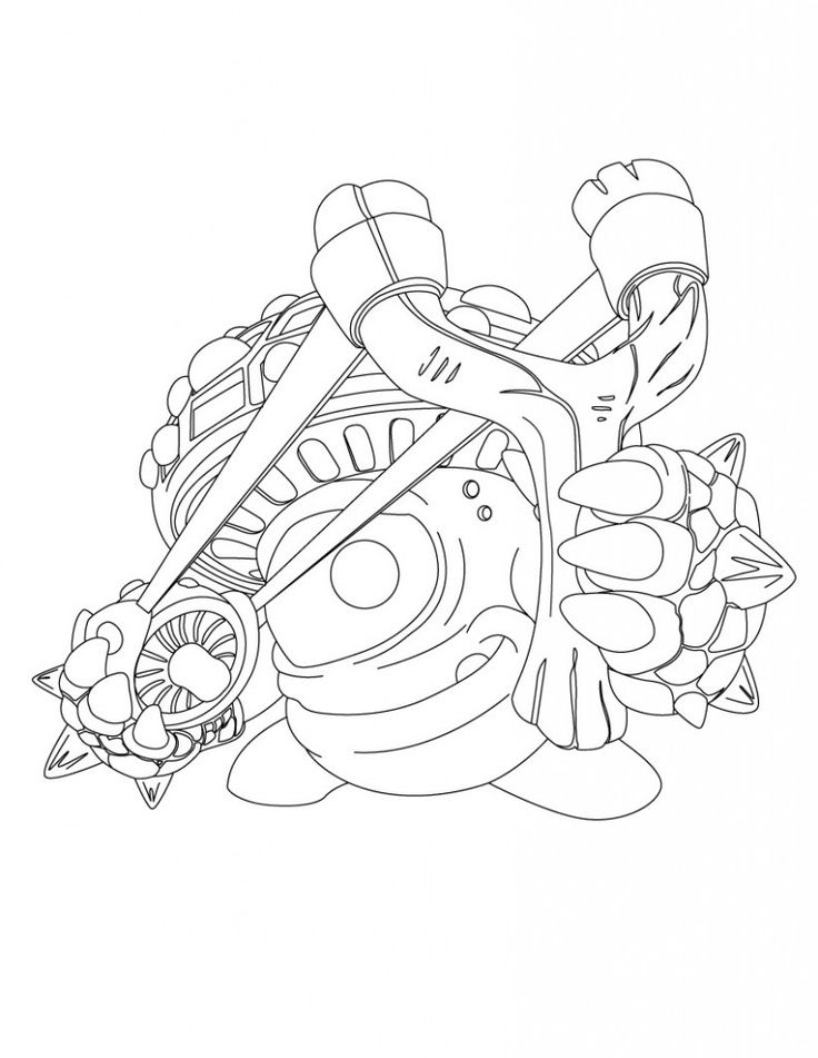 chaos skylanders coloring pages - photo#27