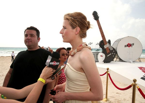 "Actress Mamie Gummer attends the ""Ricki and the Flash"" photo call during Summer Of Sony Pictures Entertainment 2015 at The Ritz-Carlton Cancun on June 16, 2015 in Cancun, Mexico. #SummerOfSonyPictures #RickiAndTheFlash"