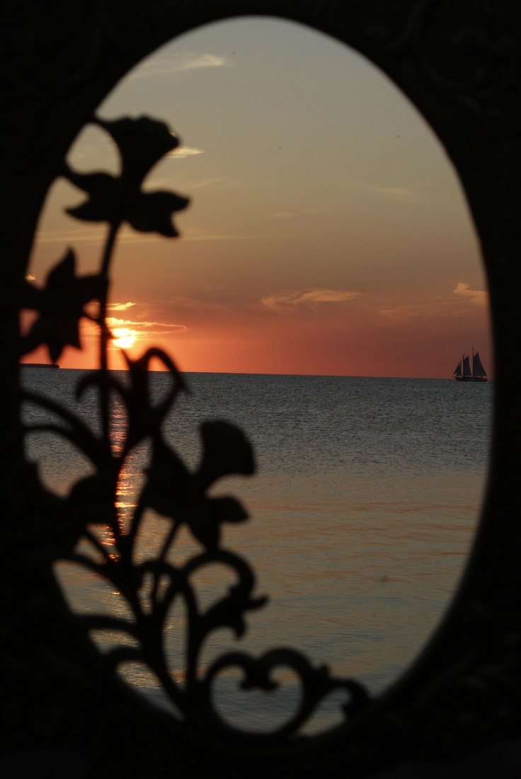Sunset in Door County, WI using an antique brass cover to shoot through, - 260 Best Picturesque Door County,WI Images On Pinterest Bucket