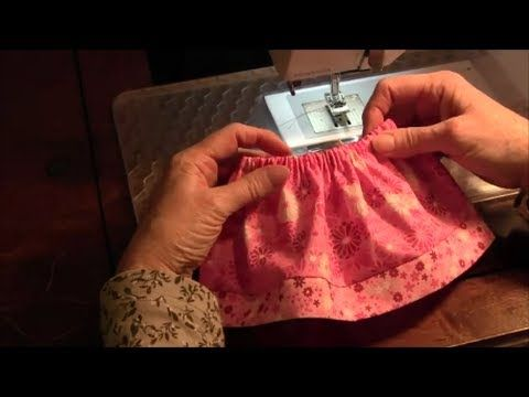 18 inch Doll Skirt (American Girl) - How to make a doll skirt - YouTube - skirt w/size to cut