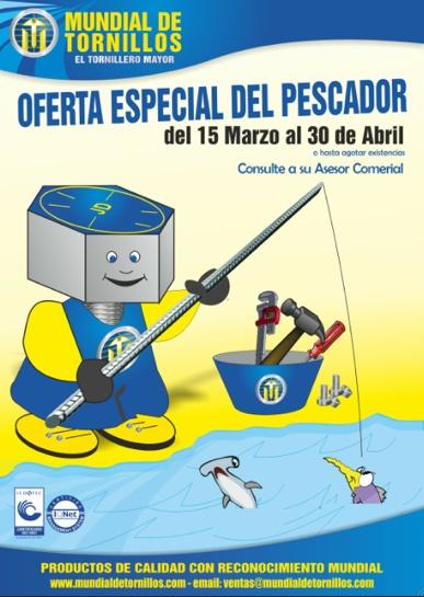 #Oferta especial del pescador, 15 Marzo-30 Abril o hasta agotar existencias