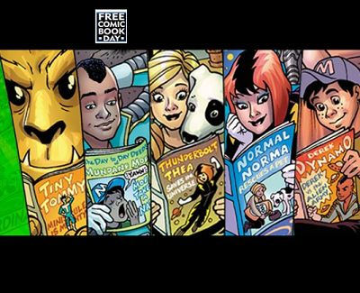 Free Comic Book Day in Ontario – Saturday,  enjoy! The FCBD
