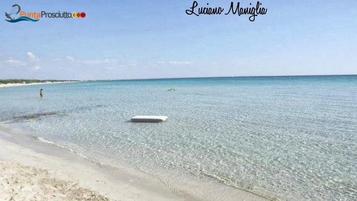 Picture from Luciano Maniglia. Punta Prosciutto, Salento, Puglia