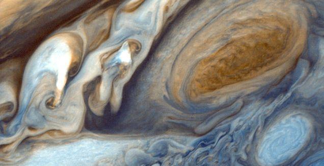 ¿Qué pasaría si intentáramos aterrizar sobre Júpiter?