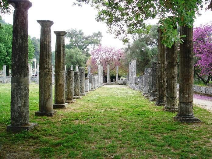 Ancient Olympia, Greece