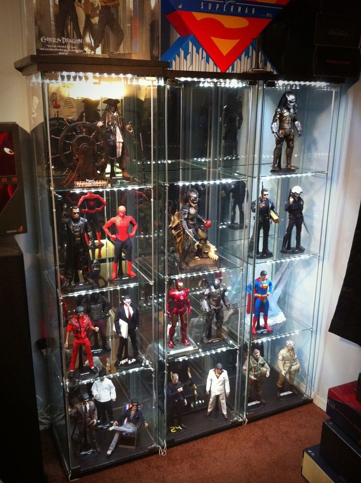 17 best images about toy displays storage on pinterest for Hot toys display case ikea