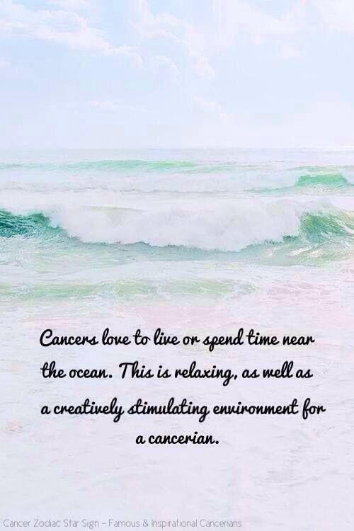 Time near the ocean? I wish!