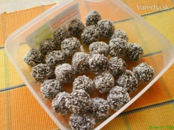 Zdravé makové guličky (fotorecept)