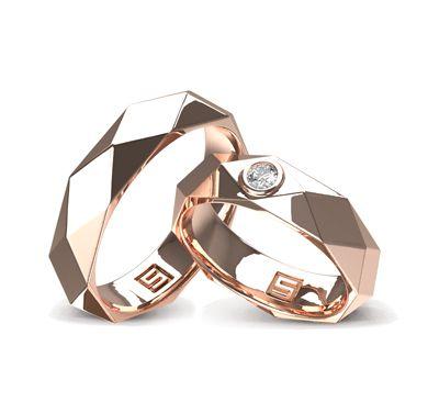 ВЕНЕЦИАНСКАЯ МОЗАЙКА — Красивые обручальные кольца SHULGA