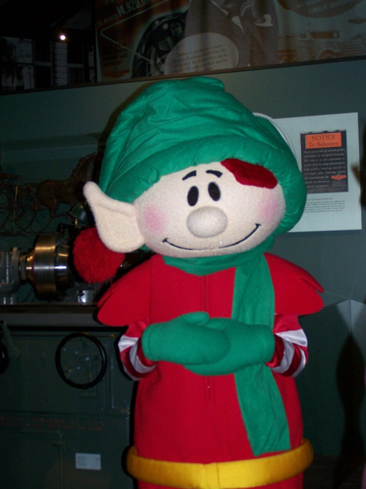 Christopher Pop-in-kins came to our Holiday Open House this year at the McKinley Presidential Library & Museum!
