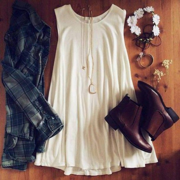 cool outfits for girls | cool girl hipster outfit style swag teen jewels shoes dress