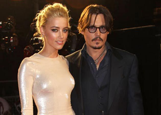 Johnny Depp and Amber Heard Throw a Glitzy Engagement Party