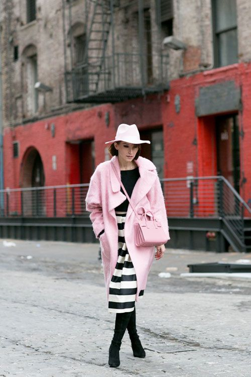 New York Fashion Week - Best streetstyle looks (17) - Elle.ro