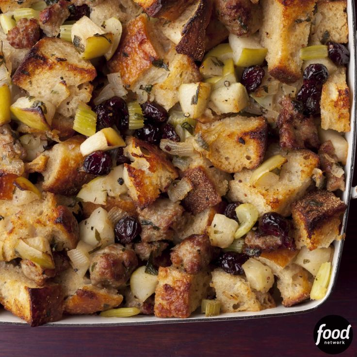 Stuffing makes the meal! Ina's version will be one you make year after year.