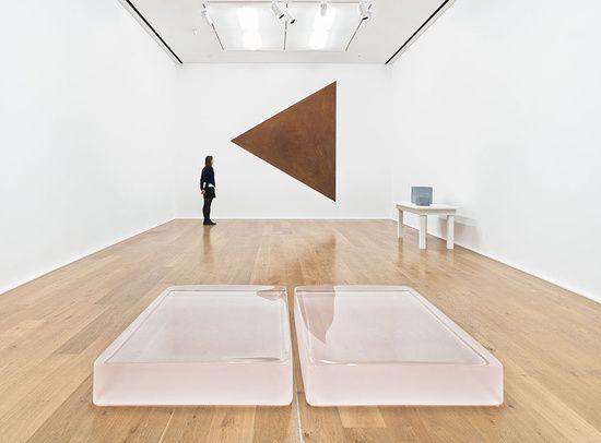 Roni Horn & Richard Serra at Hauser & Wirth