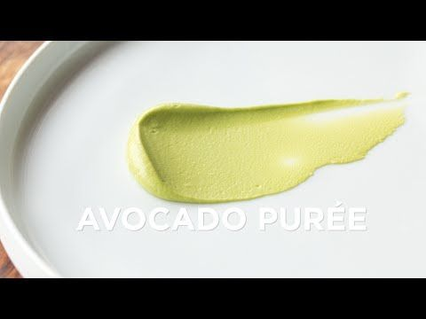 Avocado Purée | Recipe | ChefSteps