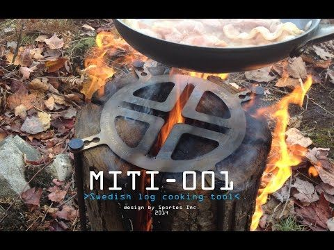 Miti-001 Log Grill - Canadian Outdoor Equipment Co.