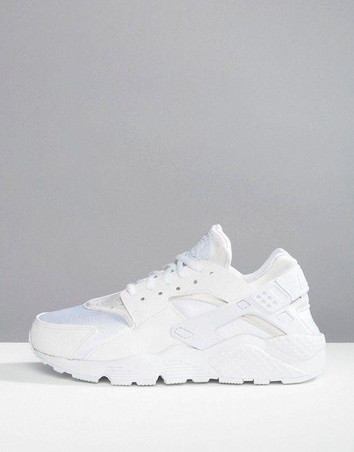 Nike | Белые кроссовки для бега Nike Air Huarache